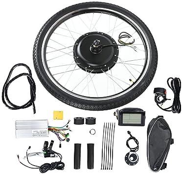 Kit de Conversión de Bicicleta Eléctrica,Rueda de 26 Pulgadas 48V ...