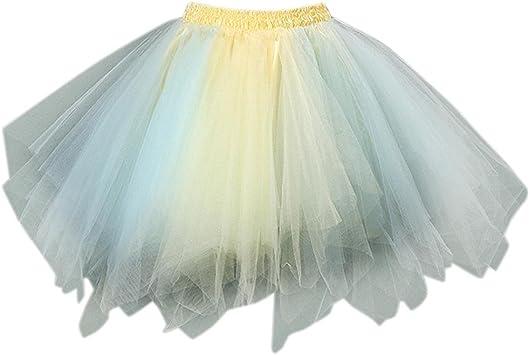 Vestidos Largos Falda Mujer Sexy Mini Falda de tutú de Ballet de ...