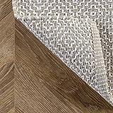 nuLOOM Lorretta Hand Loomed Area Rug, 5' x 8', Taupe