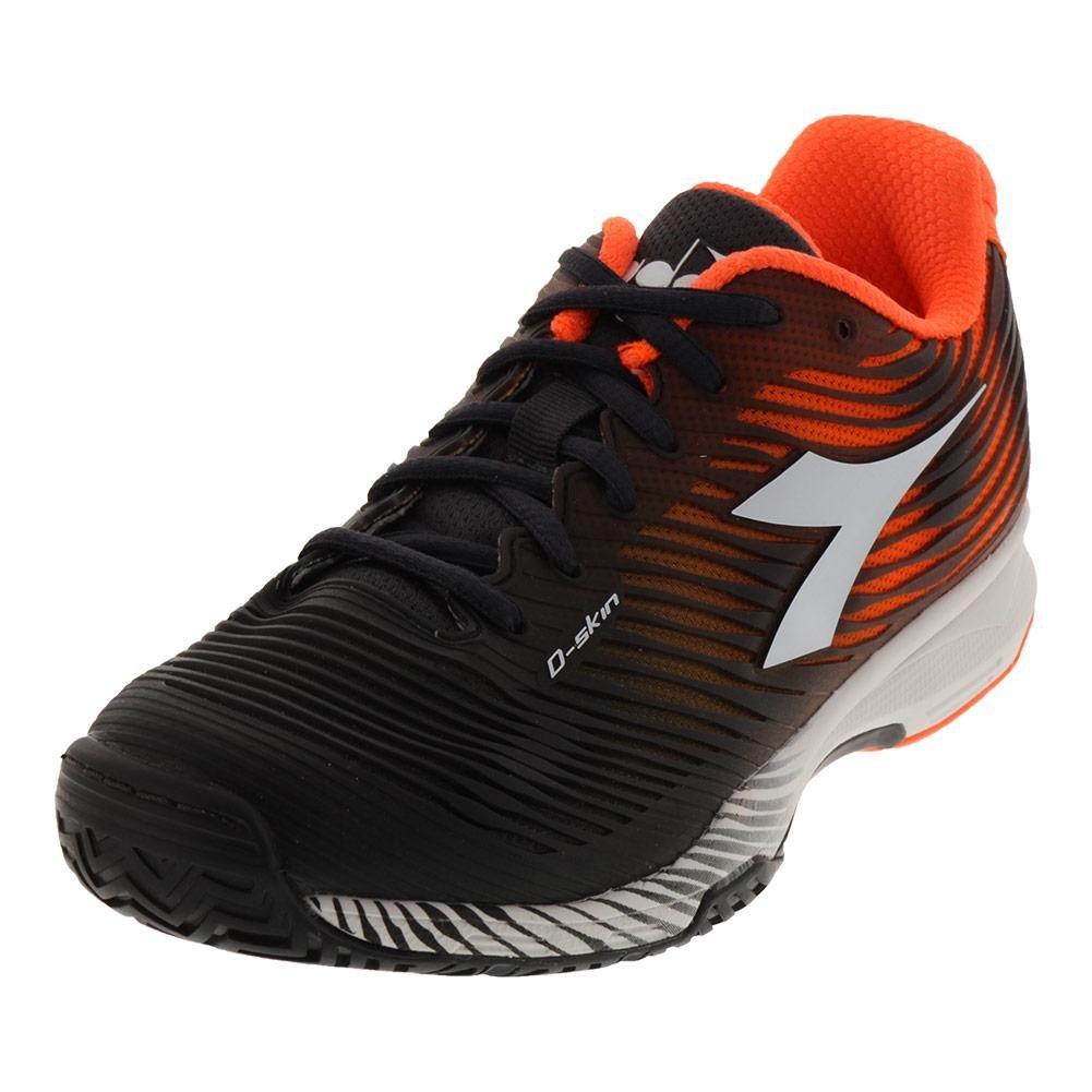 Diadora S Competition 4 AG Mens Tennis Shoe B0798SR8YD 8 D(M) US|Orange/Black