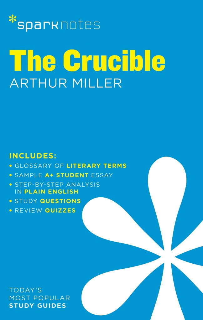Amazon The Crucible Sparknotes Literature Guide Sparknotes