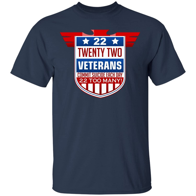 22 Twenty Two Veterans Commit Suicide Each Day , T-shirt