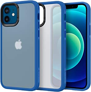 CYRILL Color Brick Designed for iPhone 12 Case (2020), iPhone 12 Pro Case (2020) - Linen Blue