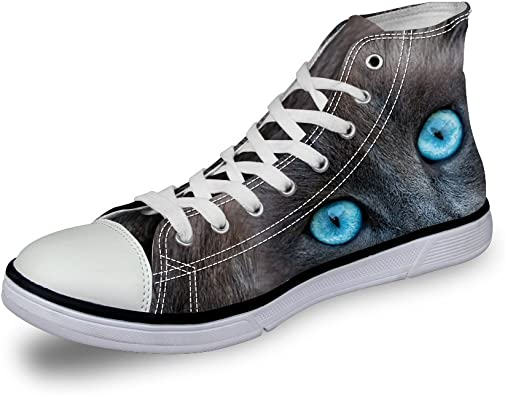 Fashion Sneakers High Canvas Shoes