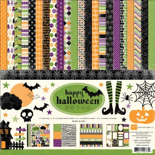 Echo Park Happy Halloween Scrapbook Kit Collection
