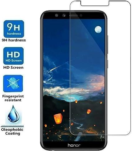 REY Protector de Pantalla para Huawei Honor 9 Lite, Cristal Vidrio ...