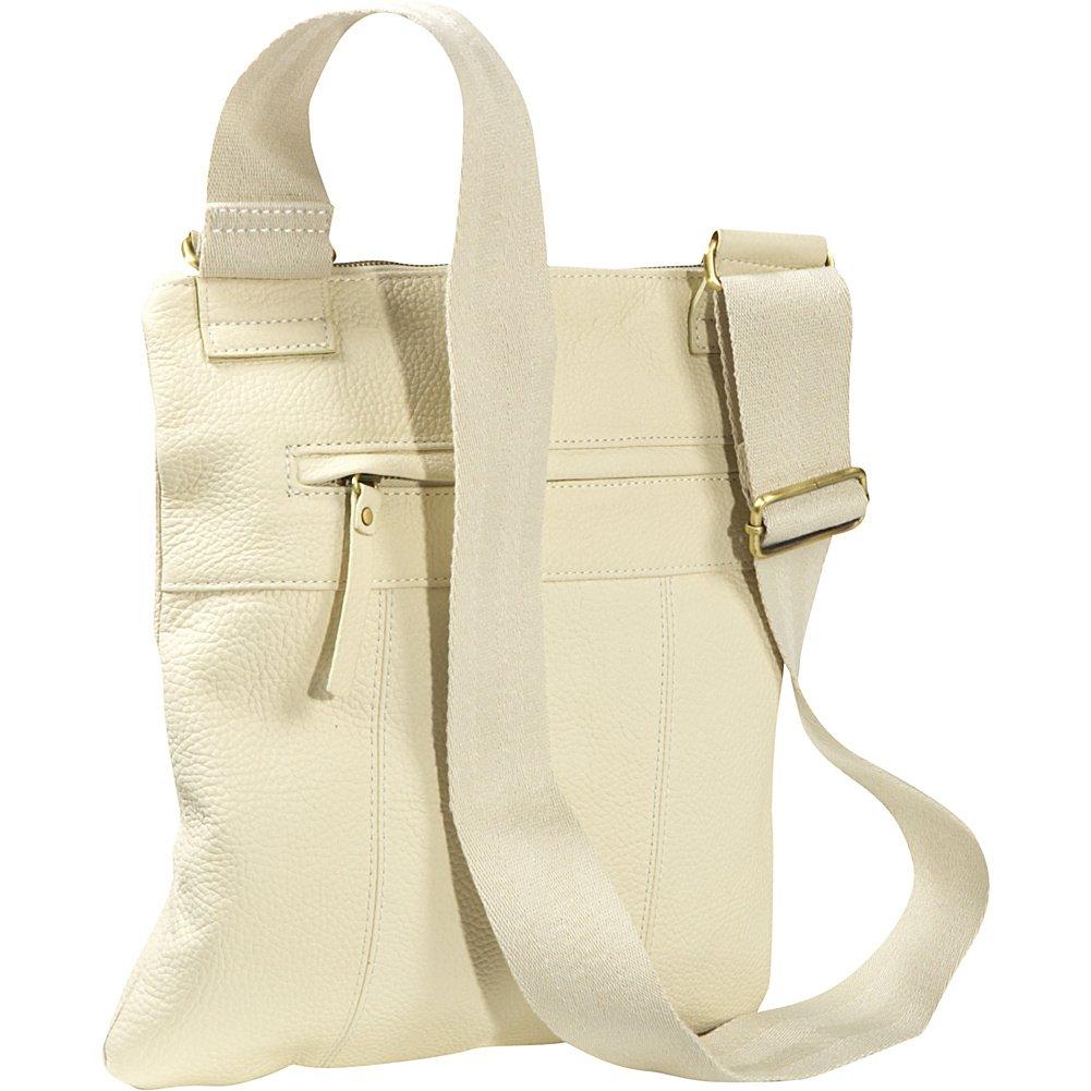 AmeriLeather Slim Cross-Body Messenger Bag