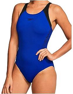 55723c6059 Speedo Women's Essential Endurance Plus Medalist Swimsuit: Amazon.co ...