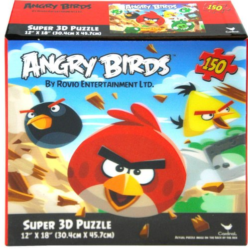 Angry Birds 150 piece Super 3D Puzzle 12