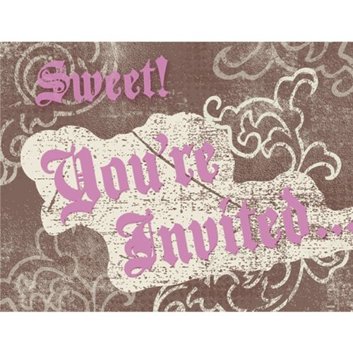 Sweet 16 Birthday Invitations (8 count) -