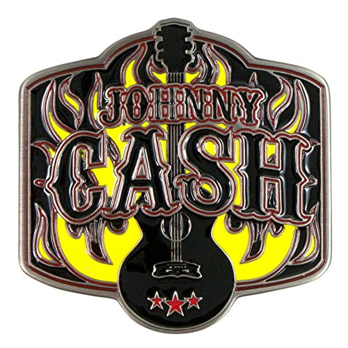 Johnny Cash - Guitar Belt Buckle