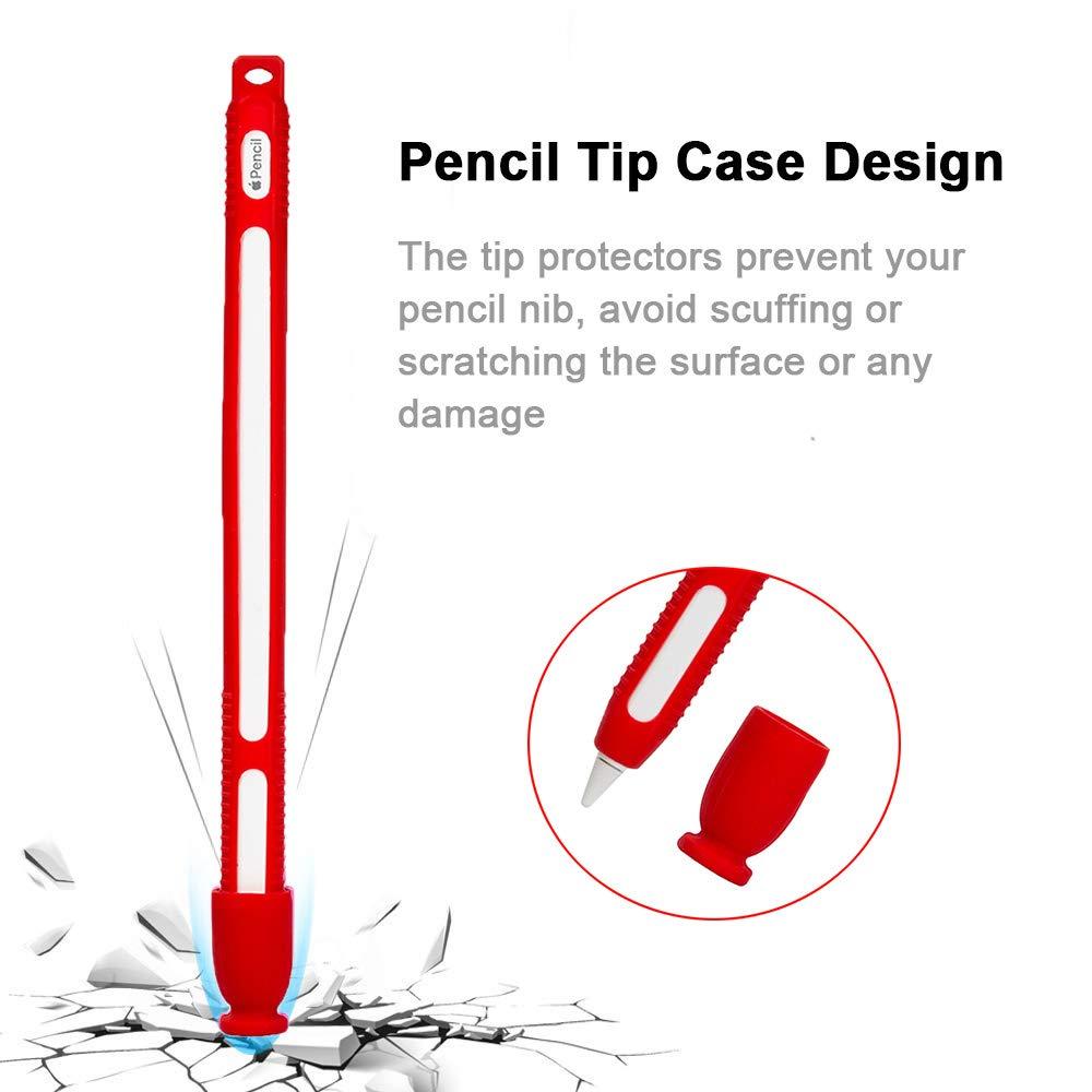 Transparent Dricar Apple Pencil Case Sleeve Cover Skin Mini Bear Silicone Case for Apple Pencil Cap Apple Pencil Tip Cover