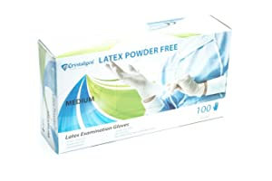 Crystalgen - Powder Free Latex Gloves