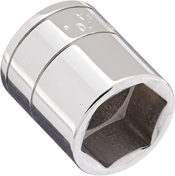 SK Professional Tools 40820 1//2 in 5//8 in Made in USA Drive 12-Point Fractional Deep Chrome Socket old Forged Steel Socket with SuperKrome Finish