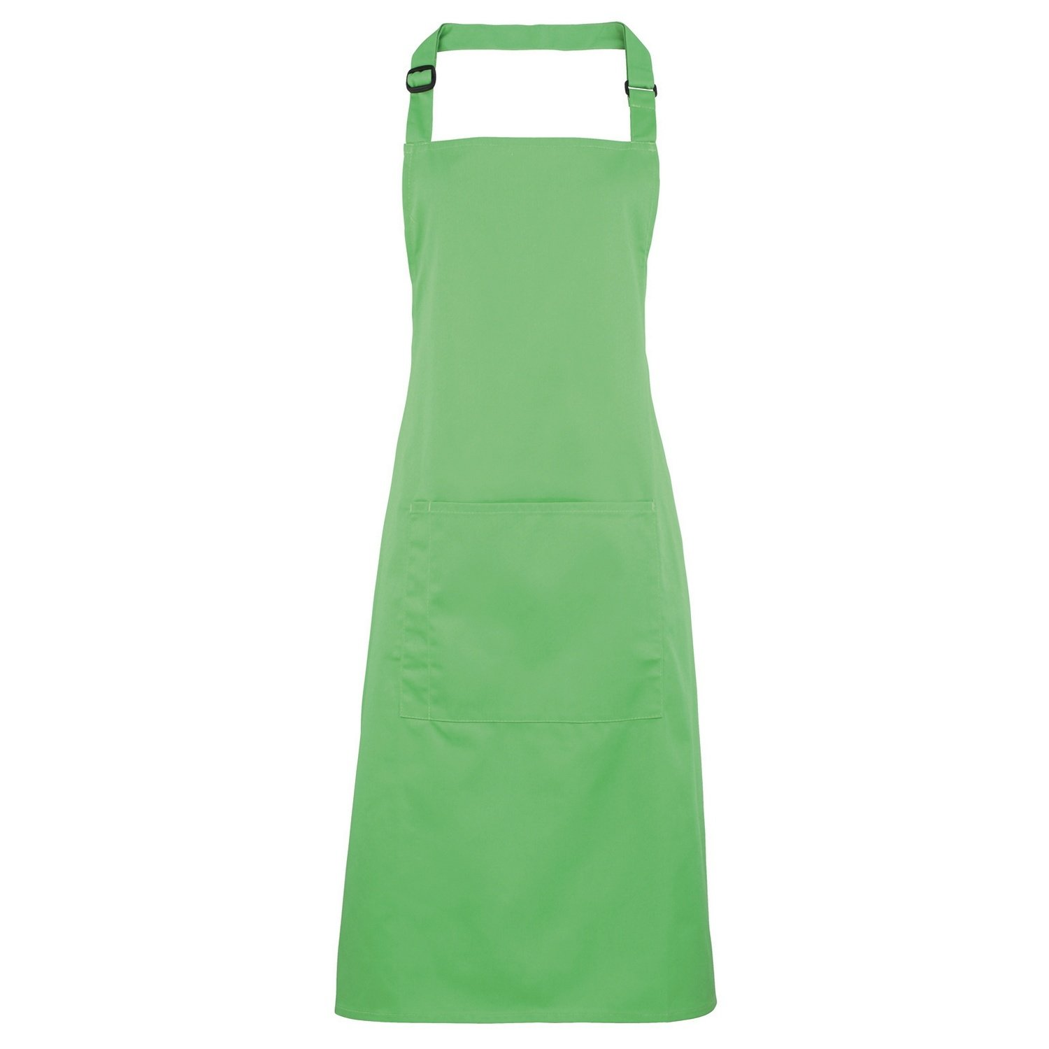 Premier Ladies/Womens Colours Bip Apron With Pocket / Workwear (One Size) (Light Blue) PRE-577