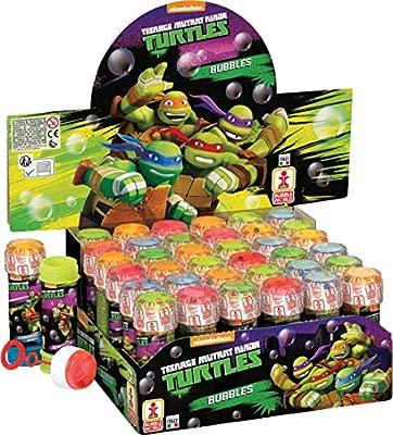 Dulcop- Burbujas de jabón TMNT Ninja Turtles, Multicolor, 103.586