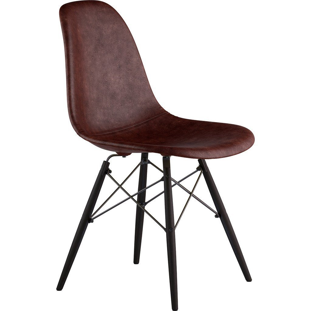 Aged Cognac NyeKoncept 331014EW3 Mid Century Dowel Side Chair