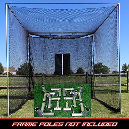 PureShotゴルフ10 ' x10 ' Ultimate Golf Hitting Net withフレームキット   B07C6LD72P