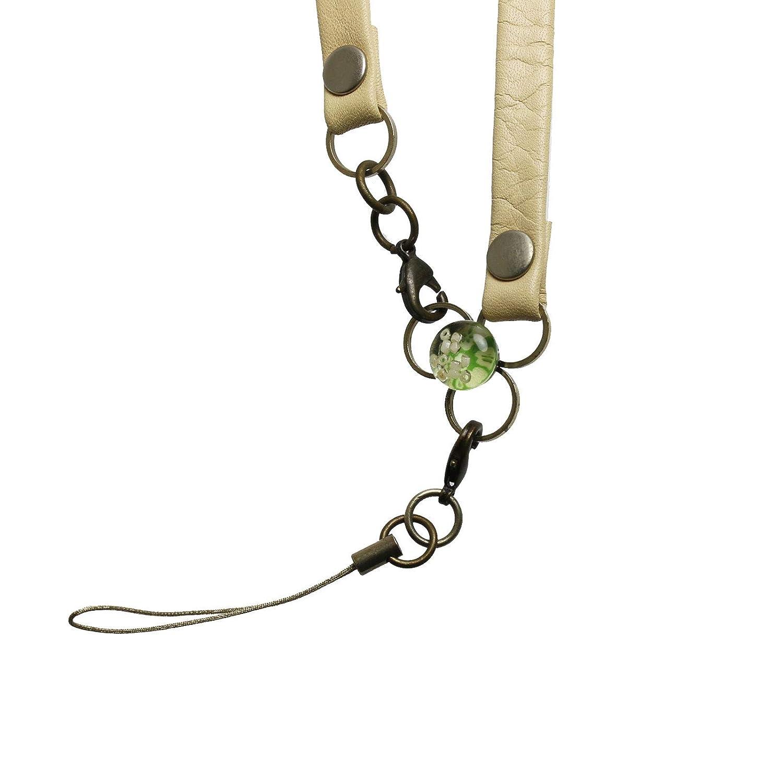 (タマルサン) TAMARUSAN 梅柄のコロンとした飾りの付いたネックストラップ   B003T96I0K