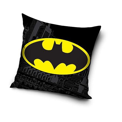 Funda de cojín decorativa con el logotipo de Batman - 40 x ...
