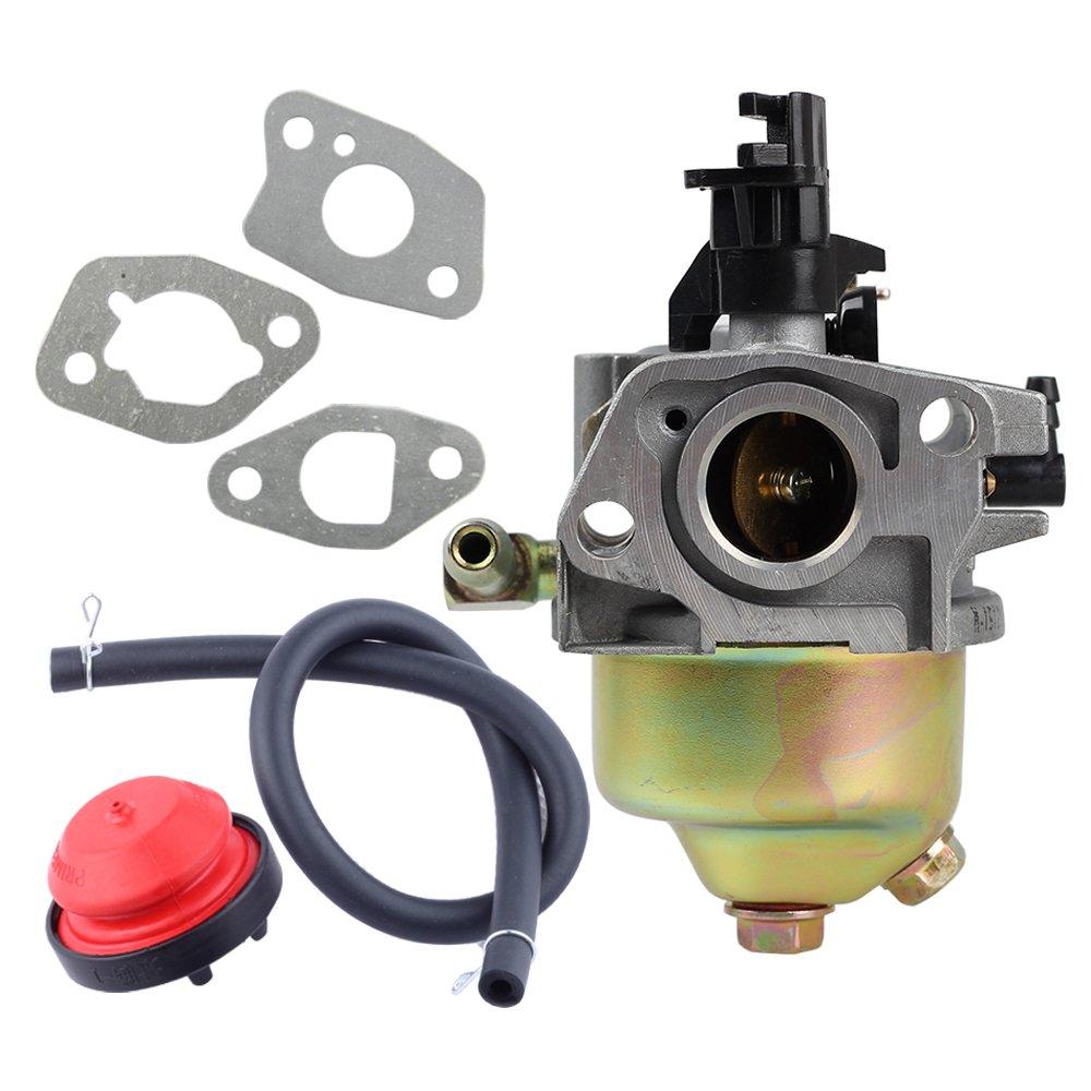 Savior Carburetor with Primer Bulb & Gaskets for MTD Cub Cadet Troy Bilt 951-10974,951-10974A,951-12705 951-14023A Lawn Mower
