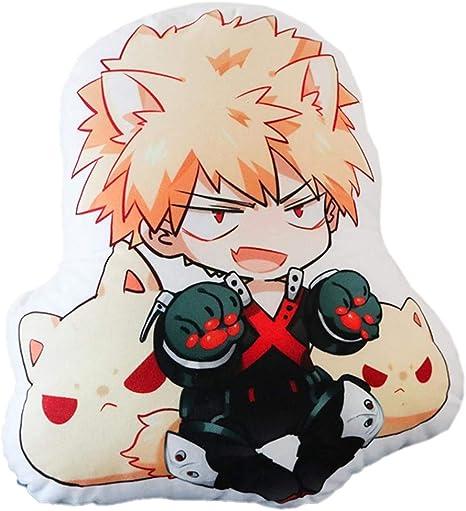 My Hero Academia Bakugou Katsuki Plush Pillow Stuffed Doll Cute Cushion Gifts