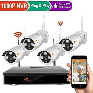 [8CH 960p cámaras NVR + 4 de 960P] corsee negocio en casa sistema de