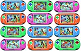 12 Pack of Water Ring Game Machine Arcade Video Children's Kid's Toy Handheld Water Game (Colors May Vary) Fun party favor, goodie bag or stocking stufferg,