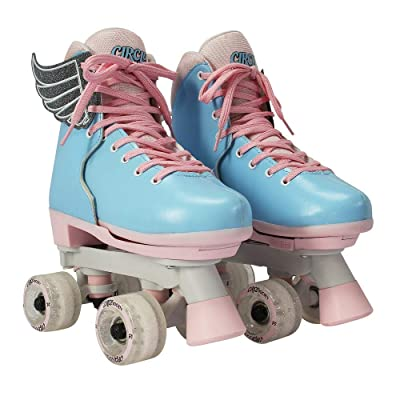 Circle Society Classic Adjustable Indoor and Outdoor Childrens Roller Skates - Classic Cotton Candy : Sports & Outdoors