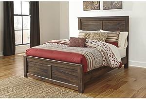 Ashley Furniture Signature Design - Quinden Queen Panel Footboard - Component Piece - Dark Brown