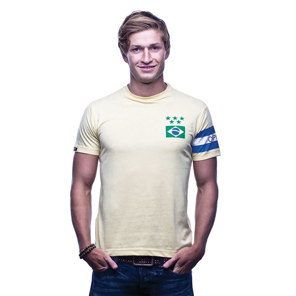 COPA Football - Brasil Capitao T-Shirt - Gelb