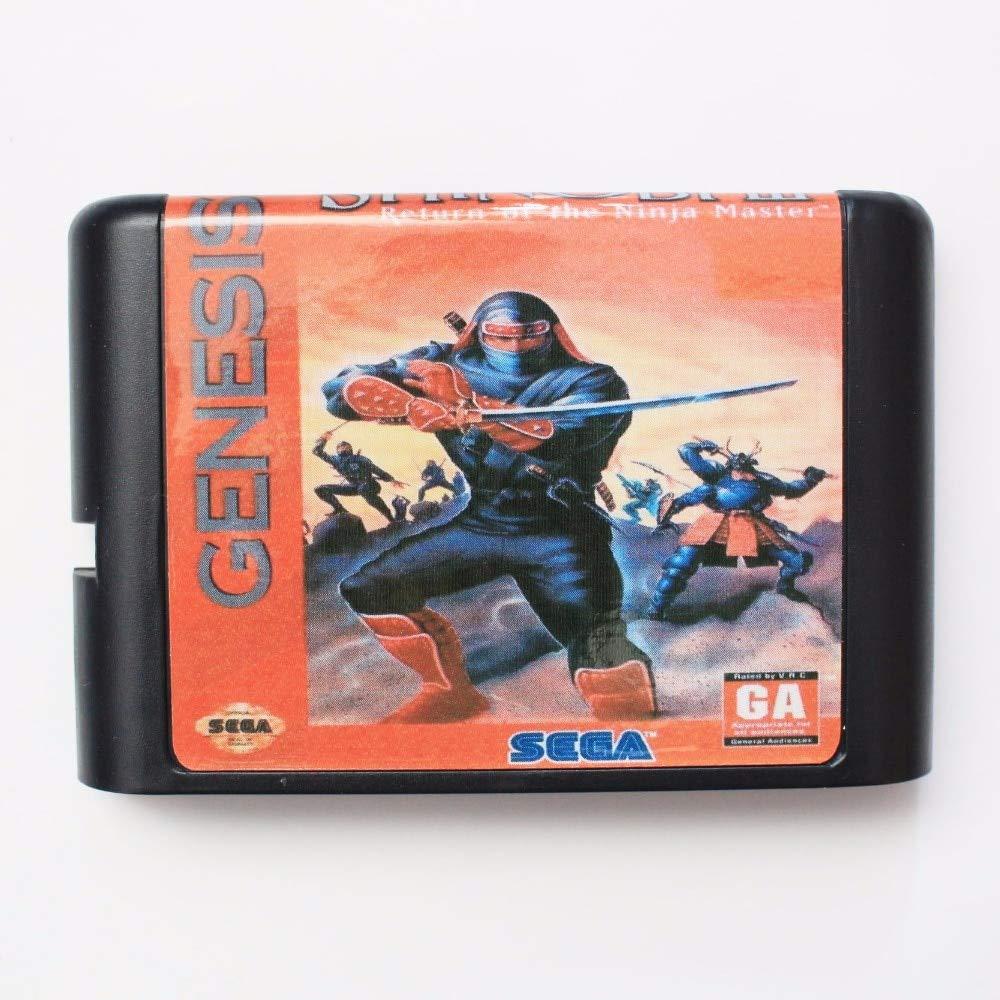 Amazon.com: Shinobi Revenge Of The Ninja Master Iii 16 Bit ...
