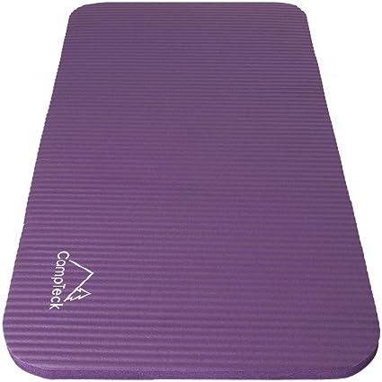 CampTeck Yoga Knee Pad Colchoneta Yoga para Rodilla Antideslizante Espuma Suave Almohadilla Yoga para Fitness, Gimnasia, Pilates, etc.