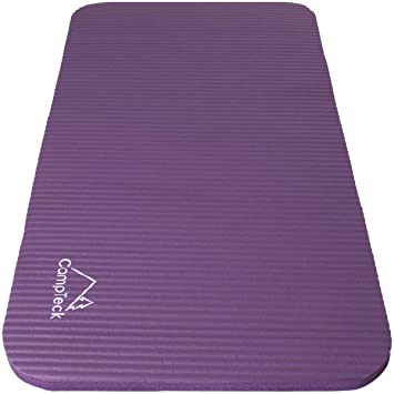 CampTeck U6963 - Yoga Knee Pad Colchoneta Yoga para Rodilla Antideslizante Espuma Suave Almohadilla Yoga para Fitness, Gimnasia, Pilates, etc. - ...