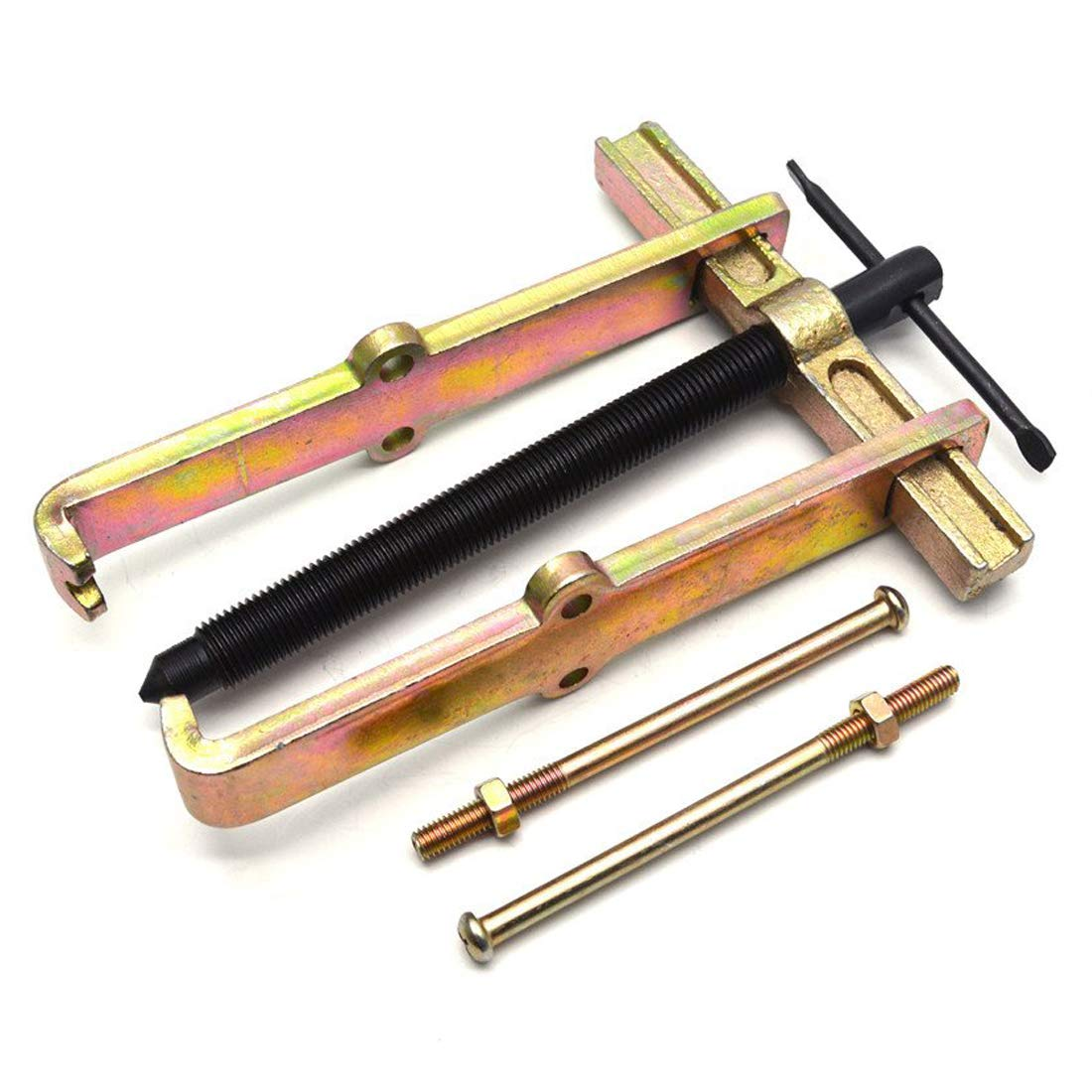 Sydien Adjustable Two Jaw Bearing Gear Puller Tool Motorcycle Car Auto Removing Kit (Size : 8'')
