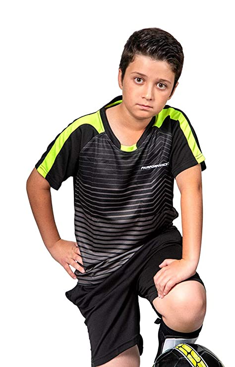 2612ed01c PAIRFORMANCE Premium Soccer Uniforms for Kids, Sizes 4-12, Boys and Girls  Sports