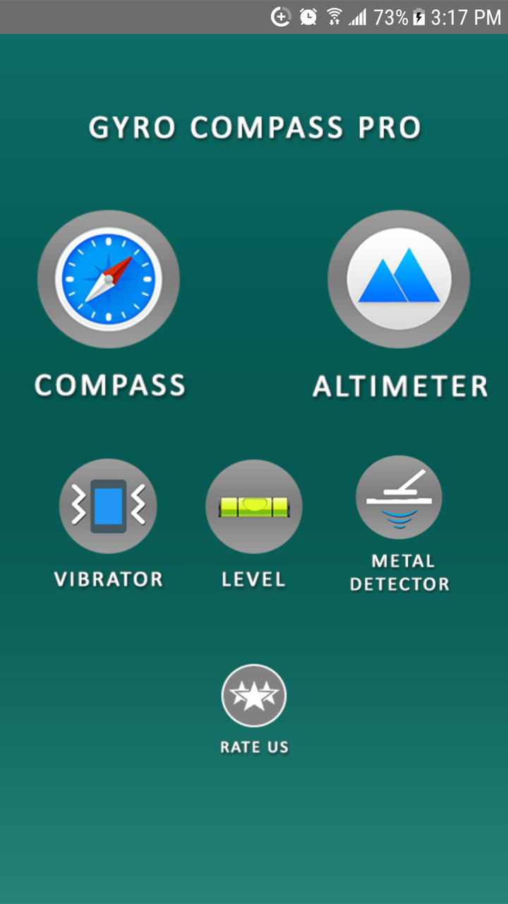 Amazon.com: Gyro Compass Pro: A Toolkit with Altimeter - Metal Detector - Level and Vibrator - Free: Appstore for Android