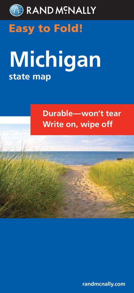 Download Easy To Fold: Michigan (Rand McNally Easyfinder) pdf