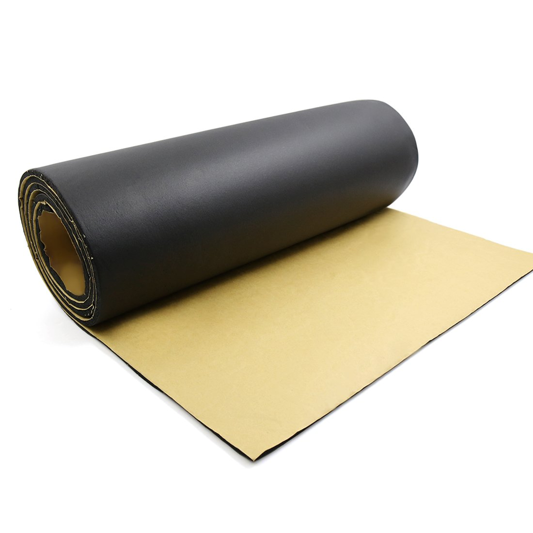 uxcell 197mil 5mm 32.29sqft Car Floor Tailgate Sound Insulation Deadener Mat 118'' x 40''