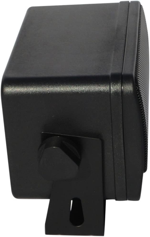 Paar Von Schwarzen KÄsten Bass Face Splbox 1 Bass Elektronik