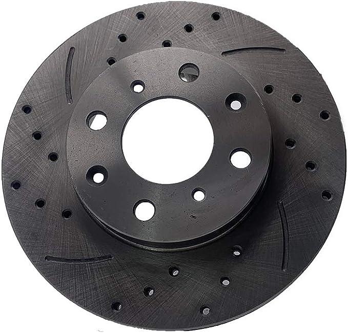 For Front 240 mm 4 Lug Brake Rotors For Honda Civc CX GX LX HX S Si CRX DX VX