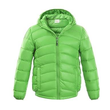 a57245d30 M2C Boys   Girls Ultralight Hooded Duck Down Puffer Packable Jacket