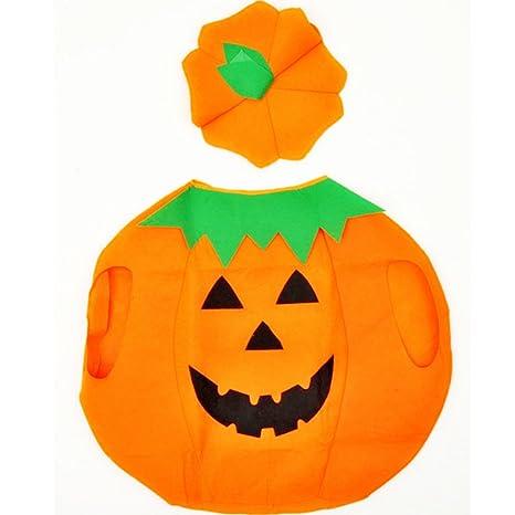 Immagine Zucca Di Halloween 94.Biee Children S Halloween Costumem Costume Da Zucca Bambino Facce