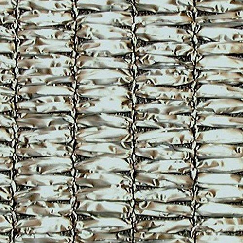 【1本】 2m × 50m シルバーグレー 遮光率85~90% ダイオラッセル 遮光ネット 2000SG 寒冷紗 ダイオ化成 タ種 代不 B0725P8MZX
