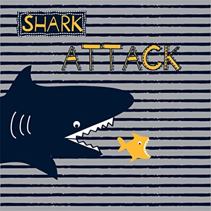 8x8FT Vinyl Photography Backdrop,Shark,Aquarium Park and People Background for Selfie Birthday Party Pictures Photo Booth Shoot