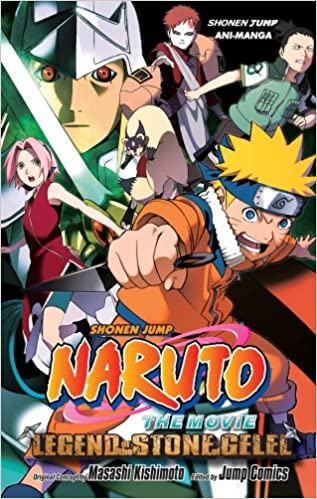 Amazon.com: Naruto The Movie Ani-Manga, Vol. 2: Legend of ...
