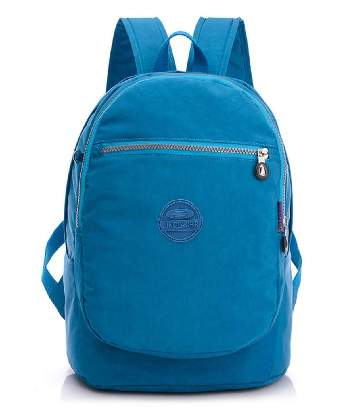 cfa1f90a0b81 Big Mango Fashion Backpack for Women Lightweight Water Resistant Nylon  Hiking Camping Daypack Multipurpose Travel Backpack Schoolbag