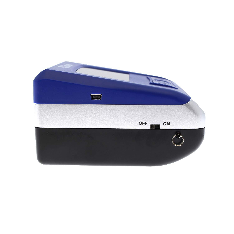 contare e aggiungere la quantit/à di banconote cavo di aggiornamento incluso aggiornabile 5 metodi di rilevamento include una batteria da 700 mAh. Euro Yatek rilevatore di contraffazione SE-0709B