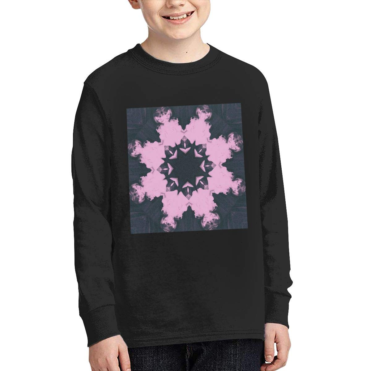 MichaelHazzard Flume Youth Comfortable Long Sleeve Crewneck Tee T-Shirt for Boys and Girls