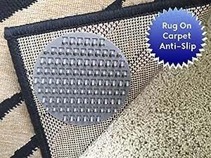 Non Slip Rug Pads For Rug On Carpet Anti Slip Designed